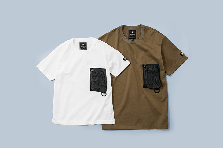 Snow Peak × URBAN RESEARCH DOORS Tactical Pocket T-shirt