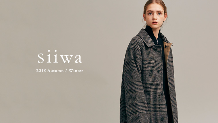 siiwa 2018 Autumn / Winter Vol.02