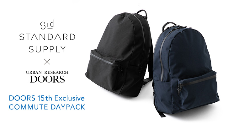 DOORS 15th Exclusive STANDARD SUPPLY COMMUTE DAYPACK