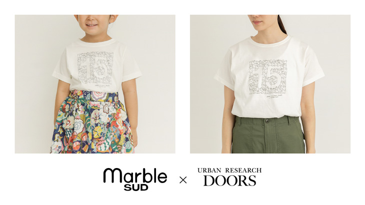 DOORS15周年 別注企画 <br />marble SUD × URBAN RESEARCH DOORS