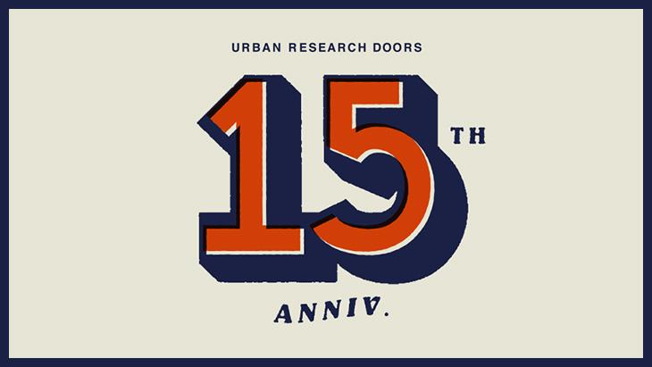 【9月15日(土)より開催】URBAN RESEARCH DOORS <br />15th Anniversary Special Event @ DOORS茶屋町店