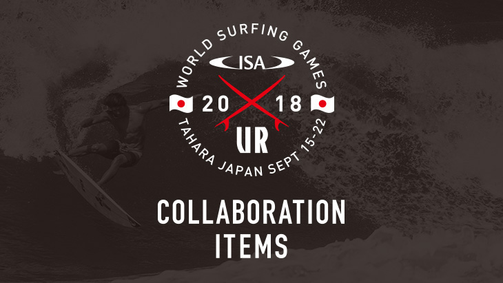 """2018 URBAN RESEARCH <br />ISA WORLD SURFING GAMES"" 大会公式アイテムを販売開始!!"