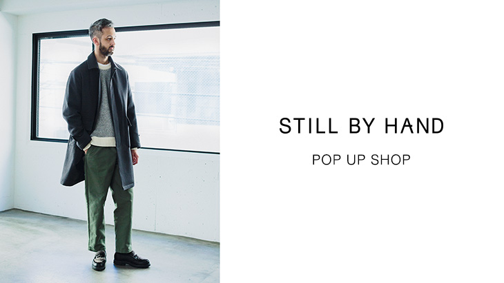 STILL BY HAND POP UP SHOP