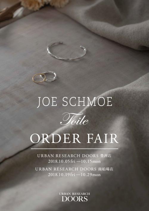 【ららぽーと豊洲店・南船場店】<br />JOE SCHMOE / Toile Order Fair