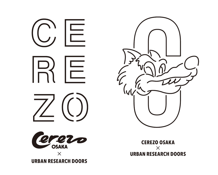 CEREZO OSAKA × URBAN RESEARCH DOORSオリジナルデザイン