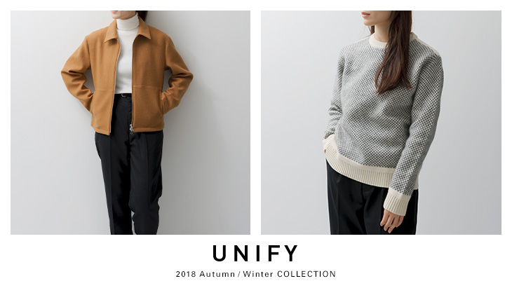 UNIFY 2018WINTER COLLECTION