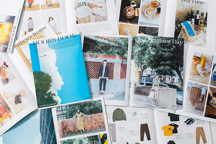 URBAN RESEARCH DOORS 2019 SPRING & SUMMER<br />シーズンカタログ「DOORS BOOK」一斉配布スタート!