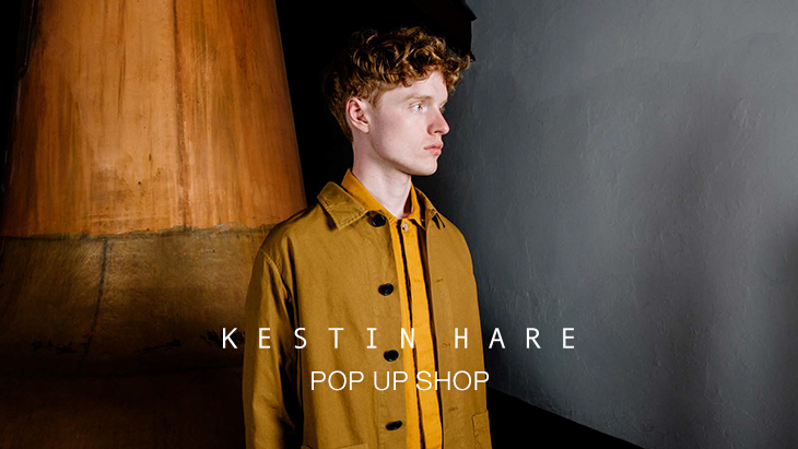 KESTIN HARE POP UP SHOP