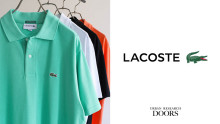 LACOSTE × URBAN RESEARCH DOORS Exclusive model