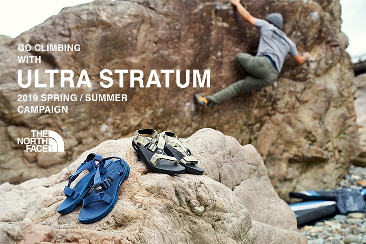 【THE NORTH FACE】~ULTRA STRATUM~ <br />2019 SPRING/SUMMER CAMPAIGN