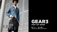 GEAR3 POP UP SHOP