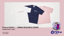 セレッソ大阪 × アーバンリサーチ ドアーズ コラボレーションTシャツ