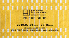 JOHANNA GULLICHSEN POP UP SHOP