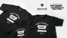 Snow Peak TINY GARDEN FESTIVAL 2019 オフィシャルTシャツ