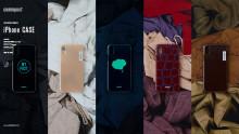 「commpost」デッドストック衣料をアップサイクルした iPhone CASEが登場