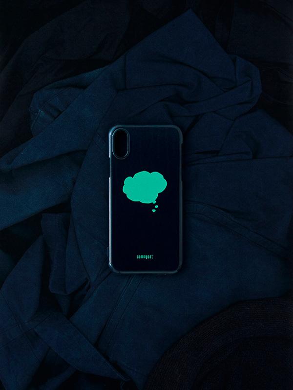 commpost iPhone CASE fukidashi