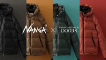 NANGA × アーバンリサーチ ドアーズ「AURORA」