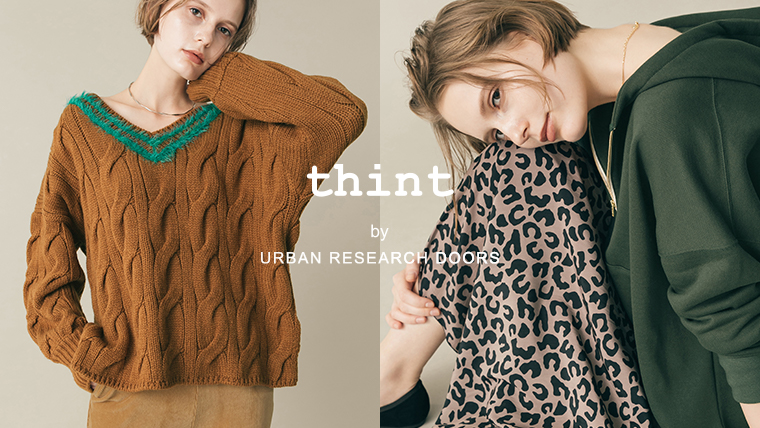 thint by URBAN RESEARCH DOORS <br />2019 Autumn / Winter