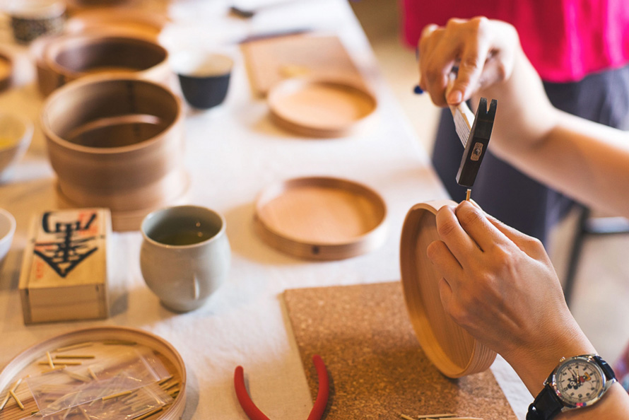 【9月28日開催】神山杉を使った曲げわっぱ弁当箱づくり at DOORS HOUSE