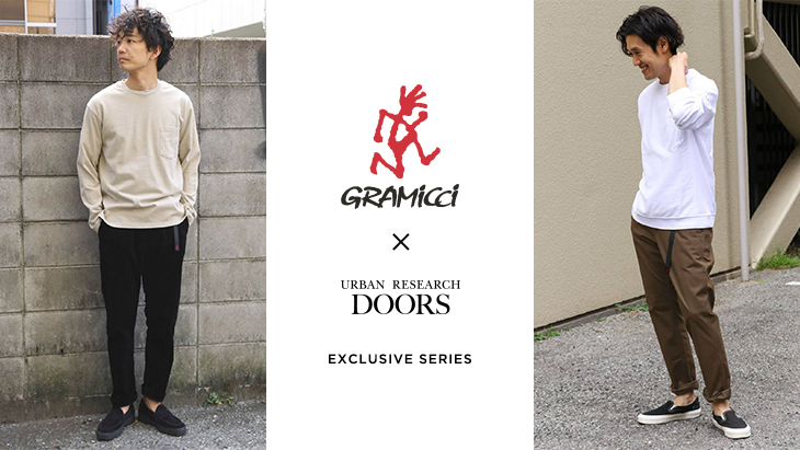 Gramicci × URBAN RESEARCH DOORS <br />EXCLUSIVE SERIES