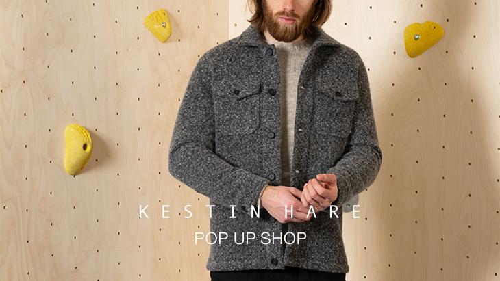 KESTIN HARE POP UP SHOP <br />at URBAN RESEARCH DOORS 南船場店