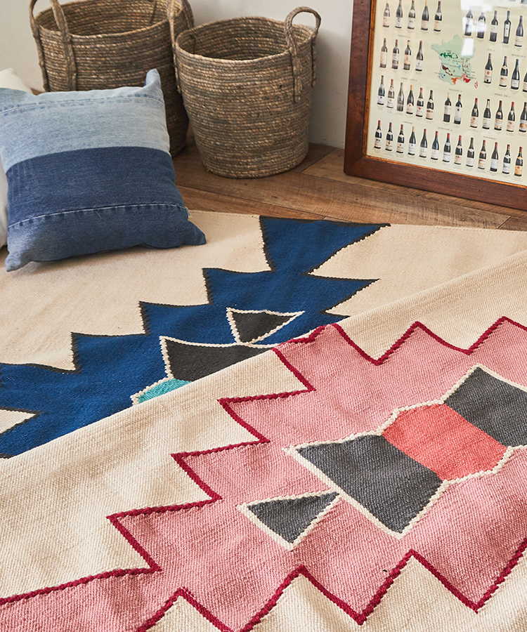DHURRIE -KILIM from India-